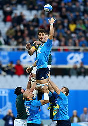 November 19, 2016 - Rome, Italy - Lood de Jager (S) and Francesco Minto (I)  during the international match between Italy v South Africa at Stadio Olimpico on November 19, 2016 in Rome, Italy. (Credit Image: © Matteo Ciambelli/NurPhoto via ZUMA Press)