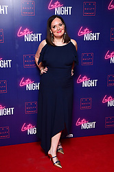 Deborah Frances-White attending the Late Night event in association with The Guilty Feminist at Picturehouse Central, London.