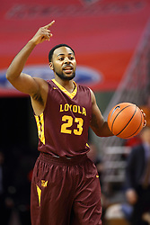 06 January 2016: Jeff White(23) during the Illinois State Redbirds v Loyola-Chicago Ramblers at Redbird Arena in Normal Illinois (Photo by Alan Look)