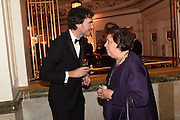 ANTOINE ARNAULT; SUSY MENKES, The Backstage Gala in aid of the Naked Heart Foundation. Coliseum theatre. London. 17 April 2015