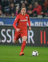 Bastian Oczipka (Frankfurt)<br /> Leverkusen, 11.02.2017, Fussball Bundesliga, Bayer 04 Leverkusen - Eintracht Frankfurt 3:0<br /> <br /> Norway only