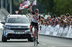 Tadej Pogacar reacts during Slovenian National Road Cycling Championships 2021, on June 20, 2021 in Koper / Capodistria, Slovenia. Photo by Vid Ponikvar / Sportida