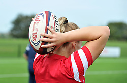 Bristol Bears Women warm-up - Mandatory by-line: Paul Knight/JMP - 02/09/2018 - RUGBY - Shaftsbury Park - Bristol, England - Bristol Bears Women v Dragons Women - Pre-season friendly