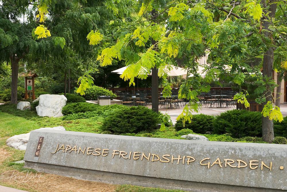 The Japanese Friendship Garden in Balboa Park, San Diego, California
