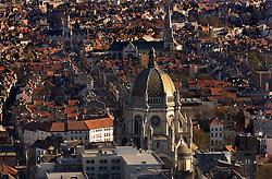 Aerial view of Saint Mary's Church in the Schaerbeek neighborhood of Brussels. (Photo © Jock Fistick)