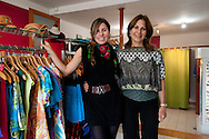 Barranco. Jennifer Flores and her mother in their   Floam atelier.