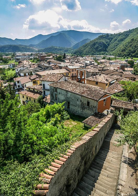 Sabbio Chiese village, Italy.