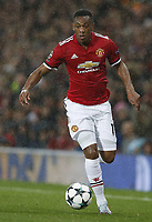 Anthony Martial of Manchester United ManU during the Champions League Group A match at the Old Trafford Stadium, Manchester. Picture date: September 12th 2017. <br />  <br /> Norway only