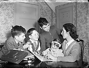 04/01/1957<br /> 01/04/1957<br /> 04 January 1957<br /> <br /> Special for Daily Express - Gaines Family Story at Finglas, Dublin
