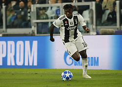 October 2, 2018 - Turin, Italy - Moise Kean during Champions League match between Juventus v Young Boys, in Turin, on October 2, 2018. (Credit Image: © Loris Roselli/NurPhoto/ZUMA Press)