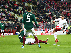 November 13, 2017 - Gdansk, Poland - Krzysztof Maczynski during the international friendly soccer match between Poland and Mexico at the Energa Stadium in Gdansk, Poland on 13 November 2017  (Credit Image: © Mateusz Wlodarczyk/NurPhoto via ZUMA Press)