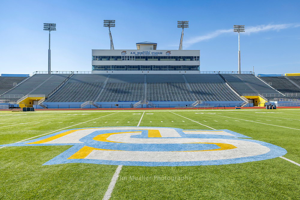 A.W. Mumford Stadium at Southern University in Baton Rouge, La. is home to the mighty Jaguars football team.