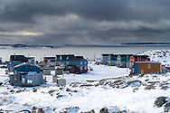 Winter is setting in Inukjuak.