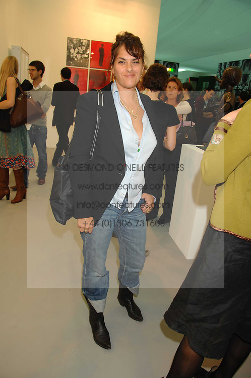 TRACEY EMIN at the opening of Frieze Art Fair 2007 held in regent's Park, London on 10th October 2007.<br /><br />NON EXCLUSIVE - WORLD RIGHTS