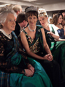 THE COUNTESS OF ROSEBERY; IONA DUCHESS OF ARGYLL; LADY DALMENY; ;  The Royal Caledonian Ball 2010. Grosvenor House. Park Lane. London. 30 April 2010 *** Local Caption *** -DO NOT ARCHIVE-© Copyright Photograph by Dafydd Jones. 248 Clapham Rd. London SW9 0PZ. Tel 0207 820 0771. www.dafjones.com.<br /> THE COUNTESS OF ROSEBERY; IONA DUCHESS OF ARGYLL; LADY DALMENY; ;  The Royal Caledonian Ball 2010. Grosvenor House. Park Lane. London. 30 April 2010