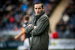 Alloa Athletic's manager Danny Lennon. <br /> Falkirk 5 v 0 Alloa Athletic, Scottish Championship game played at The Falkirk Stadium. © Ross Schofield