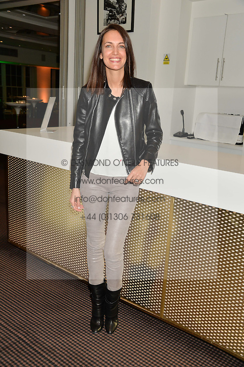 EMILY CAILLON-CHENE at a film screening in aid of the charity Women for Women held at BAFTA, 195 Piccadilly, London on 26th February 2014.