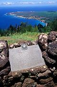 Kalaupapa overlook, Molokai, Hawaii