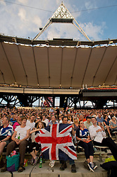© Licensed to London News Pictures. 26/07/2013. London, United Kingdom. The crowd at the IAAF Diamond League Sainsbury's Anniversary Games 2013. Photo credit : Justin Setterfield/LNP