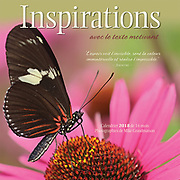 PRODUCT: Calendar<br /> TITLE: Inspirations Mini French 2018<br /> CLIENT: Wyman Publications / Browntrout Canada