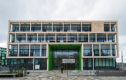 Exterior of new Boroughmuir High School in Edinburgh,Scotland, UK