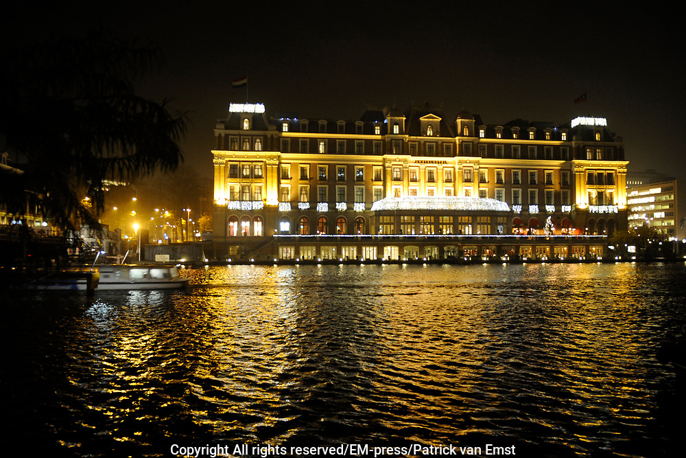 Uitreiking Beau Monde Awards in het Amstel Hotel, Amsterdam.<br /> <br /> Op de foto:  Amstel Hotel