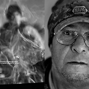 Portraits and images of a striking miners for Report on Business Magazine which won a National Magazine Award, photo editor Clare Jordan.