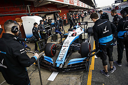 February 21, 2019 - Barcelona Barcelona, Espagne Spain - KUBICA Robert (pol), Williams Racing F1 FW42, pitlane during Formula 1 winter tests from February 18 to 21, 2019 at Barcelona, Spain - Photo  Motorsports: FIA Formula One World Championship 2019, Test in Barcelona, (Credit Image: © Hoch Zwei via ZUMA Wire)