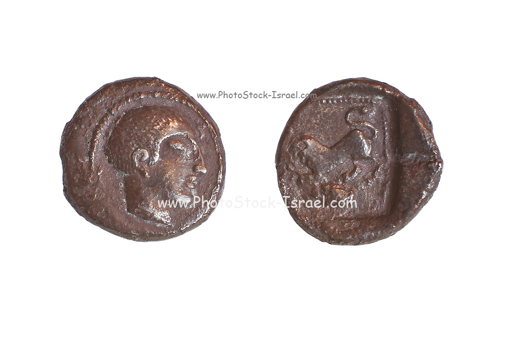 Silver Drachm 3.4 gr from Philstia