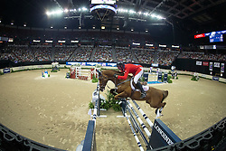 Fellers Rich, (USA), Flexible<br /> Longines FEI World Cup™ Jumping Final II<br /> Las Vegas 2015<br />  © Hippo Foto - Dirk Caremans<br /> 18/04/15
