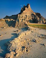 Badlands formations, Badlands National Park South Dakota USA