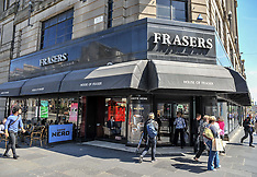 House of Fraser announces store closures, Edinburgh, 7 June 2018