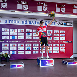 EDE (NED) CYCLING, SIMAC LADIES TOUR,   August 24th 2021, <br /> Marianne Vos wins the prologue off te Simac Ladies Tour