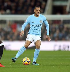 27 December 2017 Newcastle: Premier League Football - Newcastle United v Manchester City : Danilo of Man City.<br /> (photo by Mark Leech)