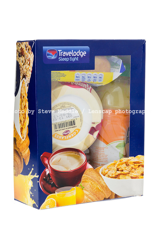 Traveledge 'Breakfast in a Box' - Mar 2013.
