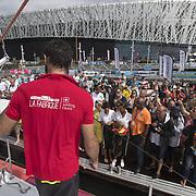 ARRIVEE DE LA  ROUTE DU RHUM 2018 - LA FABRIQUE