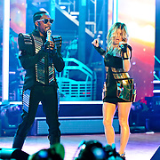 "COLUMBIA, MD - June 9th, 2011: Will.I.Am. and Fergie of the Grammy Award-wining hip-hop group The Black Eyed Peas perform at Merriweather Post Pavilion in Columbia, MD. The group recently released the single ""Don't Stop The Party"" from their sixth studio album, The Beginning. (Photo by Kyle Gustafson/For The Washington Post)"