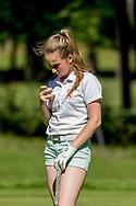26-05-2017 Foto  Hanna Korsmit tijdens het NK Strokeplay onder 18 jaar, gespeeld op De Dommel in St. Michielsgestel.