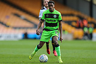 Forest Green Rovers Reece Brown(10) during the EFL Sky Bet League 2 match between Port Vale and Forest Green Rovers at Vale Park, Burslem, England on 23 March 2019.