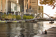 Southgate Footbridge on the Yarra River