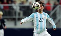 Fotball <br /> FIFA World Youth Championships 2005<br /> Enschede<br /> Nederland / Holland<br /> 11.06.2005<br /> Foto: Morten Olsen, Digitalsport<br /> <br /> USA v Argentina 1-0<br /> <br /> Gustavo Oberman - Argentina