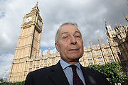 Frank Field MP at Portcullis House