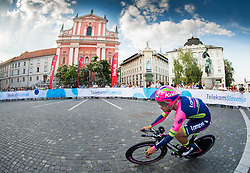 Diego Ulissi of Lampre-Merida during Stage 1 of 21st Tour of Slovenia 2014 - Time Trial 8,8 km cycling race in Ljubljana, on June 19, 2014 in Slovenia. Photo By Vid Ponikvar / Sportida