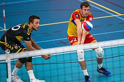 Jeroen Rauwerink #2 of Dynamo in action in the supercup semifinal between Draisma Dynamo – Active Living Orion on October, 03 2020 in Van der Knaaphal, Ede
