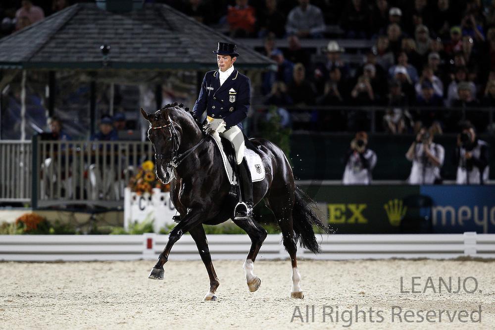 Christoph Koschel - Donnperignon<br /> Alltech FEI World Equestrian Games <br /> Lexington - Kentucky 2010<br /> © DigiShots