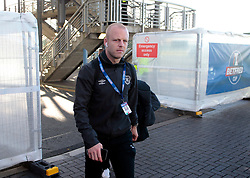 Heart of Midlothian's Steven Naismith arrives for the match against Celtic in the Betfred Cup semi final match at BT Murrayfield Stadium, Edinburgh. PRESS ASSOCIATION Photo. Picture date: Sunday October 28, 2018. See PA story SOCCER Hearts. Photo credit should read: Graham Stuart/PA Wire. EDITORIAL USE ONLY
