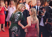 Venice, Italy, 29th August 2019, Laura Dern and Scarlett Johansson at the gala screening of the film Marriage Story  at the 76th Venice Film Festival. Doreen Kennedy / Alamy Live News