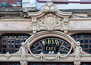 Majestic Cafe historic landmark in Rua de Santa Catarina, Porto, Portugal