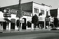1972 Artisian Patio & Phil Harris Records on Hollywood Blvd.