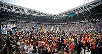 Festeggiamenti in campo Juventus per lo scudetto, Torino 5/5/2013 .Juventus Stadium.Football Calcio 2012/2013 Serie A.Juventus Vs Palermo.Foto Marco Bertorello Insidefoto